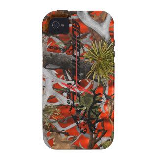 Caso de los alces del camuflaje del resplandor de  iPhone 4/4S carcasa