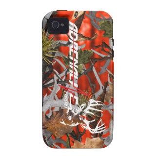 Caso de los ciervos del resplandor del camuflaje d iPhone 4/4S fundas