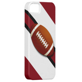Caso de los colores del equipo de fútbol iPhone 5 cobertura