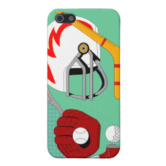 Caso de los deportes de los deportes de los deport iPhone 5 carcasa