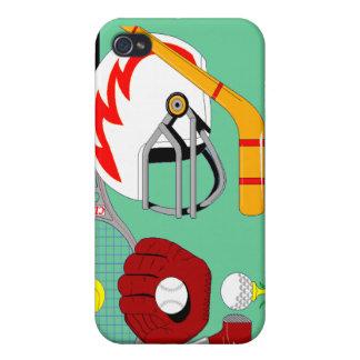 Caso de los deportes de los deportes de los deport iPhone 4/4S funda