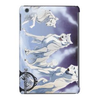 Caso de los lobos de la nieve fundas de iPad mini