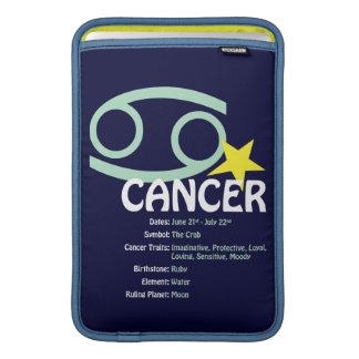 Caso de los rasgos del cáncer funda  MacBook