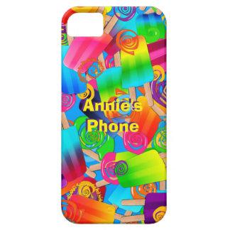 Caso de los Remolinos-iPHONE 5 del Popsicle de CKC iPhone 5 Carcasa