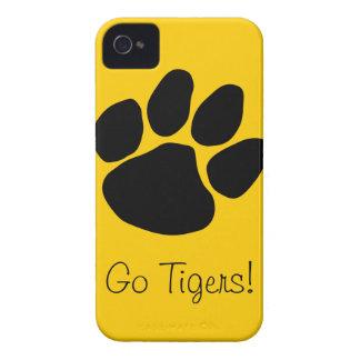 Caso de los tigres iPhone 4 Case-Mate coberturas