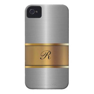 Caso de lujo del iPhone 4 del negocio del oro iPhone 4 Carcasas