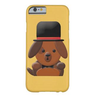 Caso de lujo lindo del iPhone 6 del perrito Funda De iPhone 6 Barely There
