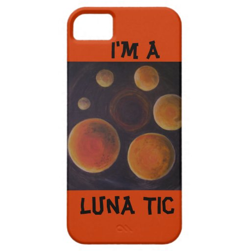 Caso de Luna Tic Iphone5 iPhone 5 Cárcasa