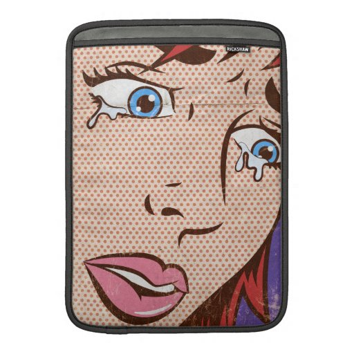 Caso de Macbook del arte pop Fundas Macbook Air
