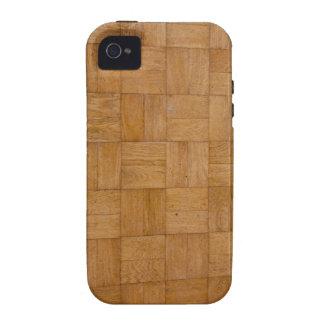 Caso de madera abstracto del iPhone 4 del modelo iPhone 4/4S Carcasas