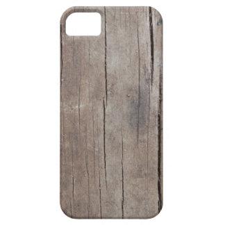 Caso de madera agrietado funda para iPhone SE/5/5s