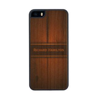 Caso de madera báltico 5S del iPhone 5 de Carved® Funda De Cerezo Carved® Para iPhone 5 Slim