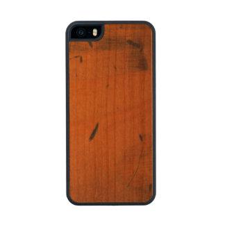 Caso de madera de madera 5S del iPhone 5 de