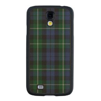Caso de madera de Samsung S4 del modelo de la tela Funda De Galaxy S4 Slim Arce