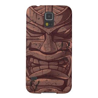 Caso de madera de Samsung S5 de la escultura del Carcasa Para Galaxy S5