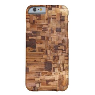 Caso de madera decorativo moderno del iPhone 6 Funda Para iPhone 6 Barely There