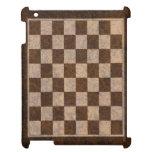 Caso de madera del iPad de la chapa de los proyect