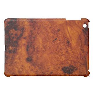 Caso de madera del iPad del grano de la nuez