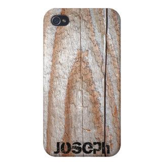 Caso de madera del iPhone 4 del tablón iPhone 4 Cárcasas