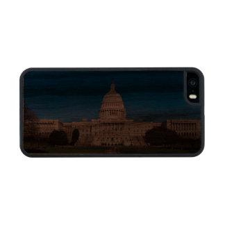 caso de madera del iphone 5/5s funda de nogal carved® para iPhone 5
