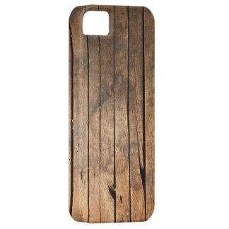 Caso de madera del iPhone 5 de los tablones Funda Para iPhone SE/5/5s