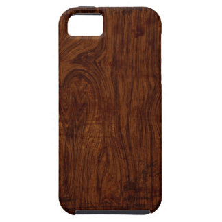 Caso de madera del iPhone 5 del grano iPhone 5 Fundas