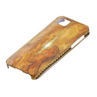 caso de madera del iphone 5 del vintage iPhone 5 carcasa