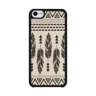"""Caso de madera del iPhone 5C de las """"del arce Funda De iPhone 5C Slim Arce"""