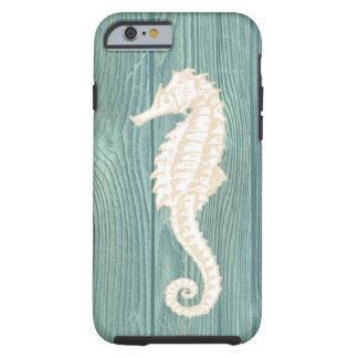 Caso de madera del iPhone 6 de la playa de la Funda Para iPhone 6 Tough