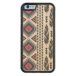 Caso de madera del iPhone 6 del arce tribal del Funda De iPhone 6 Bumper Arce