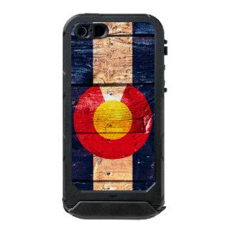 Caso de madera del iphone de Colorado Carcasa De Iphone 5 Incipio Atlas Id