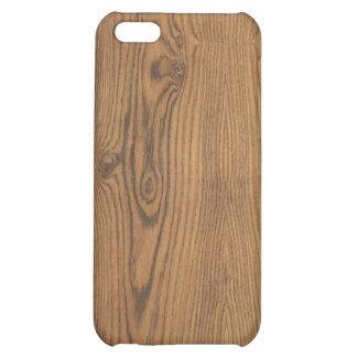Caso de madera del iPhone del grano de la nuez dur
