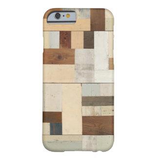 Caso de madera geométrico del iPhone 6 Funda De iPhone 6 Slim