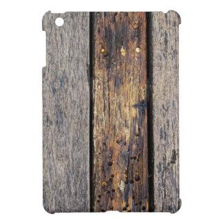 Caso de madera grueso del iPad de los tablones iPad Mini Protectores