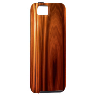 Caso de madera hermoso del iPhone 5 de la mirada Funda Para iPhone SE/5/5s