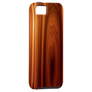 Caso de madera hermoso del iPhone 5 de la mirada iPhone 5 Funda