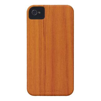 Caso de madera pulido de IPhone 4/4S del modelo Case-Mate iPhone 4 Fundas