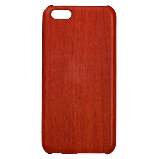 Caso de madera pulido del iPhone 5 del modelo