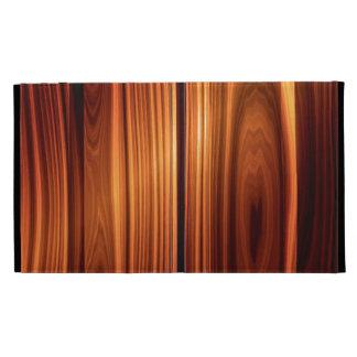 Caso de madera pulido fresco del iPad