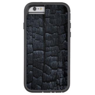 Caso de madera quemado de Iphone 6 Funda De iPhone 6 Tough Xtreme