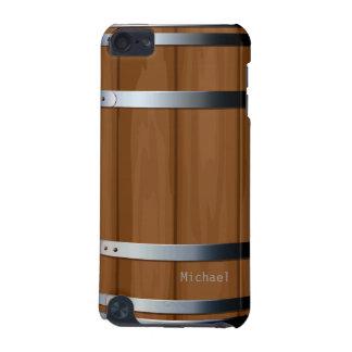 Caso de madera retro del tacto 5 de iPod del barri Funda Para iPod Touch 5G