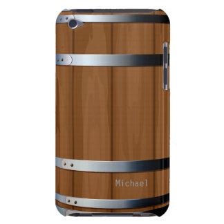 Caso de madera retro del tacto de iPod del barril  iPod Case-Mate Coberturas