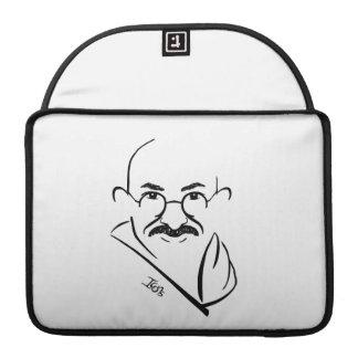 Caso de Mahatma Gandhi MacBook Pro Funda Para Macbooks
