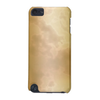 Caso de mármol subió oro del tacto de iPod Carcasa Para iPod Touch 5G