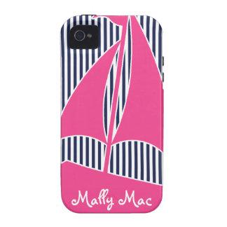 Caso de muy buen gusto 4s de Iphone 4 del monogram Case-Mate iPhone 4 Carcasas