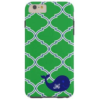 Caso de muy buen gusto azulverde del iPhone 6 de Funda De iPhone 6 Plus Tough