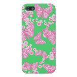 Caso de muy buen gusto floral de Iphone 5 de la ma iPhone 5 Coberturas