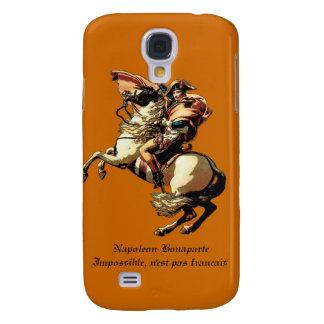 Caso de Napoleon Bonaparte iPhone3 Funda Para Galaxy S4