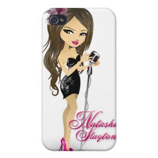 Caso de Natasha Slayton Iphone4 iPhone 4 Carcasa