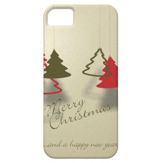 Caso de Navidad iPhone 5 Funda